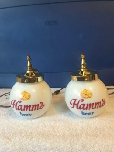 HAMMS BEER SIGN MINI GLOBES