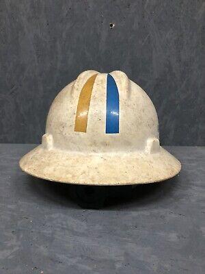 Vintage Bell South Telephone MSA Hard Hat Model. DIRTY!