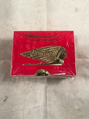 Indian Motorcycle Collection Cards Series II Factory Set, Sealed, New