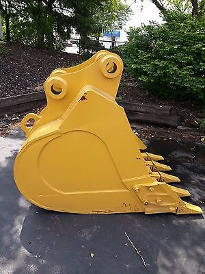 New 42 Heavy Duty Excavator Bucket For A Caterpillar 320 With Coupler Pins