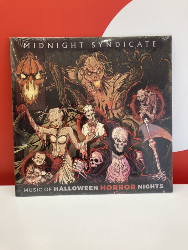 2021 Universal Studios Music of Halloween Horror Nights HHN Vinyl RECORD RARE!!!