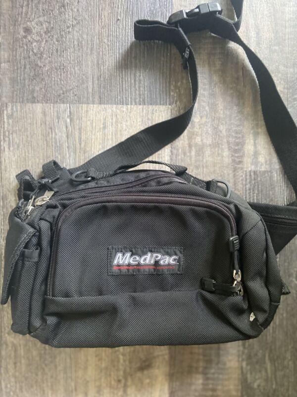 MEDPAC Emergency Medical EMT Paramedic Bag Black Waist Pack