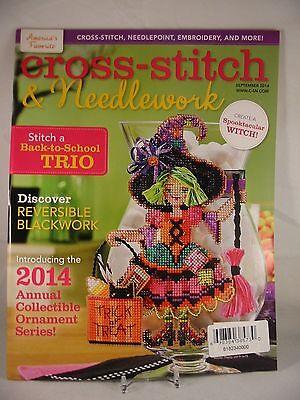 Halloween Cross Stitch Magazine (Cross Stitch & Needlework Magazine September 2014 Halloween Owl Quintet)