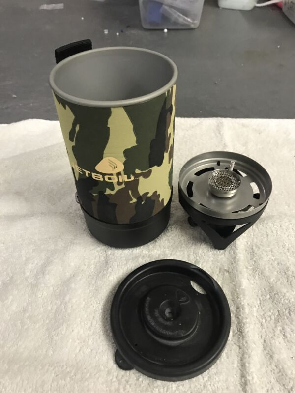 Jetboil Camo Flash Personal Stove Cooking System Backpacking Camping Stove