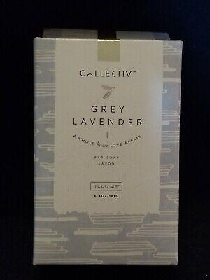 Illume Collectiv Grey Lavender Bar Soap. 6.4 oz