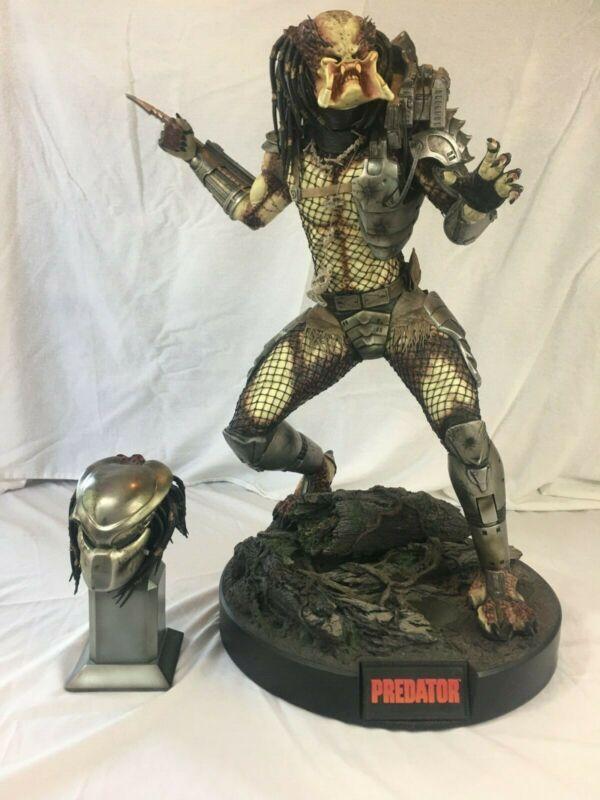 SIDESHOW 1/4 Scale Exclusive Predator Maquette Statue Stan Winston - 15 of 300