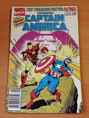 Captain America Annual #9 ~ NEAR MINT NM ~ 1990 MARVEL COMICS