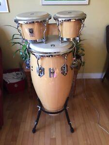 Toca KAMAN series conga drum and bongos
