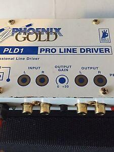 Phoenix Gold Pld1 line driver