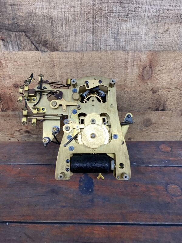 International Business Machines Art Deco Master Clock Mechanism Assembly