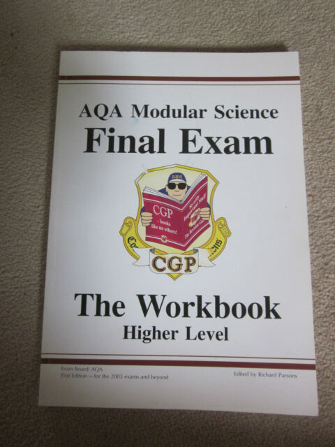 AQA SCIENCE WORKBOOK HIGHER LEVEL BY CGP