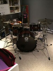 Yamaha Rock Tour complete drum package
