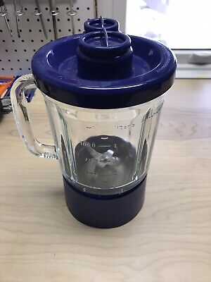 Kitchen Aid 40 oz. 5 cup Complete Blender Jar Glass Container Pitcher   KSB5BU4
