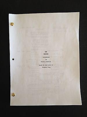 THE SHINING (1980) Script & Treatment Stanley Kubrick; novel STEPHEN KING