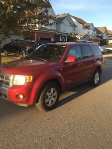 2008 Ford Escape v6 ltd AS IS