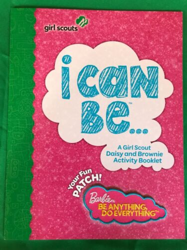 Girl Scouts Barbie I Can Be (Daisy and Brownie) Activity Booklet and Fun Patch