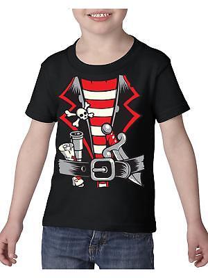 Pirate T-Shirt Pirate Costume  Toddler Kids T-Shirt