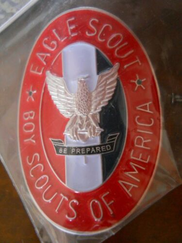 BOY SCOUTS OF AMERICA EAGLE SCOUT HIKING STAFF MEDALLION (NEW IN PACK)