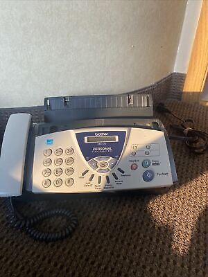 Brother Fax-575 Personal Plain Paper Fax Phone And Copier Machine
