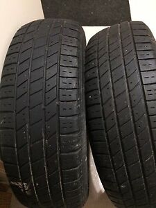 Two 195/70R14 tires