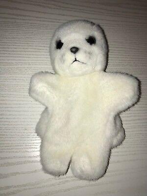 Robbe Seal Handpuppe Heuler Stofftier TOP (Robbe Puppe)