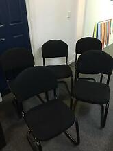 5 near new office chairs Newstead Launceston Area Preview
