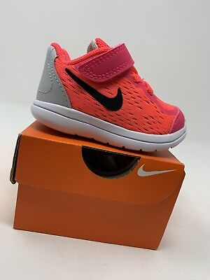 the latest b2c31 02cb5 TODDLER GIRLS  Nike Flex 2017 Shoes, Pink   Gray - Size 4C 904251-