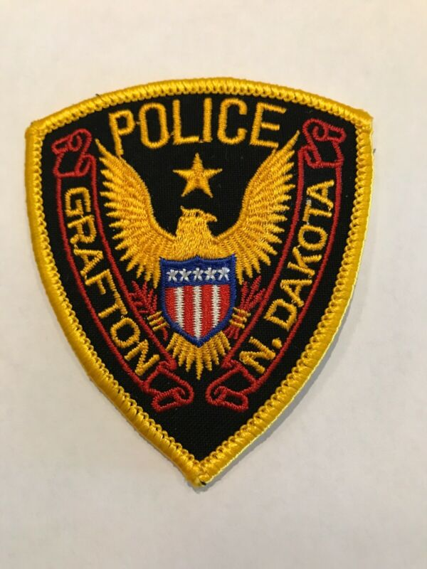 Grafton North Dakota Police Department Patch Small Size ND