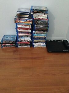 Blu Rays and a HDMI DVD player