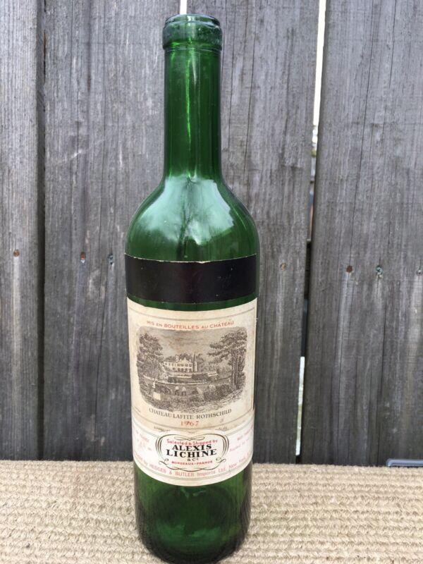 1967 Chateau Lafite  Rothschild wine bottle