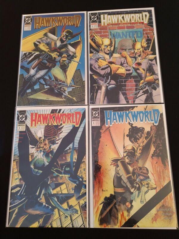 Hawkworld 1-5 & 7 (1990) + Annuals 1 & 2 (1990-1991) Ostrander - DC Comics (NM)