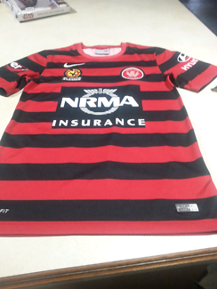 Wanted: Western Sydney Wanders FC Authentic Nike jersey - size small