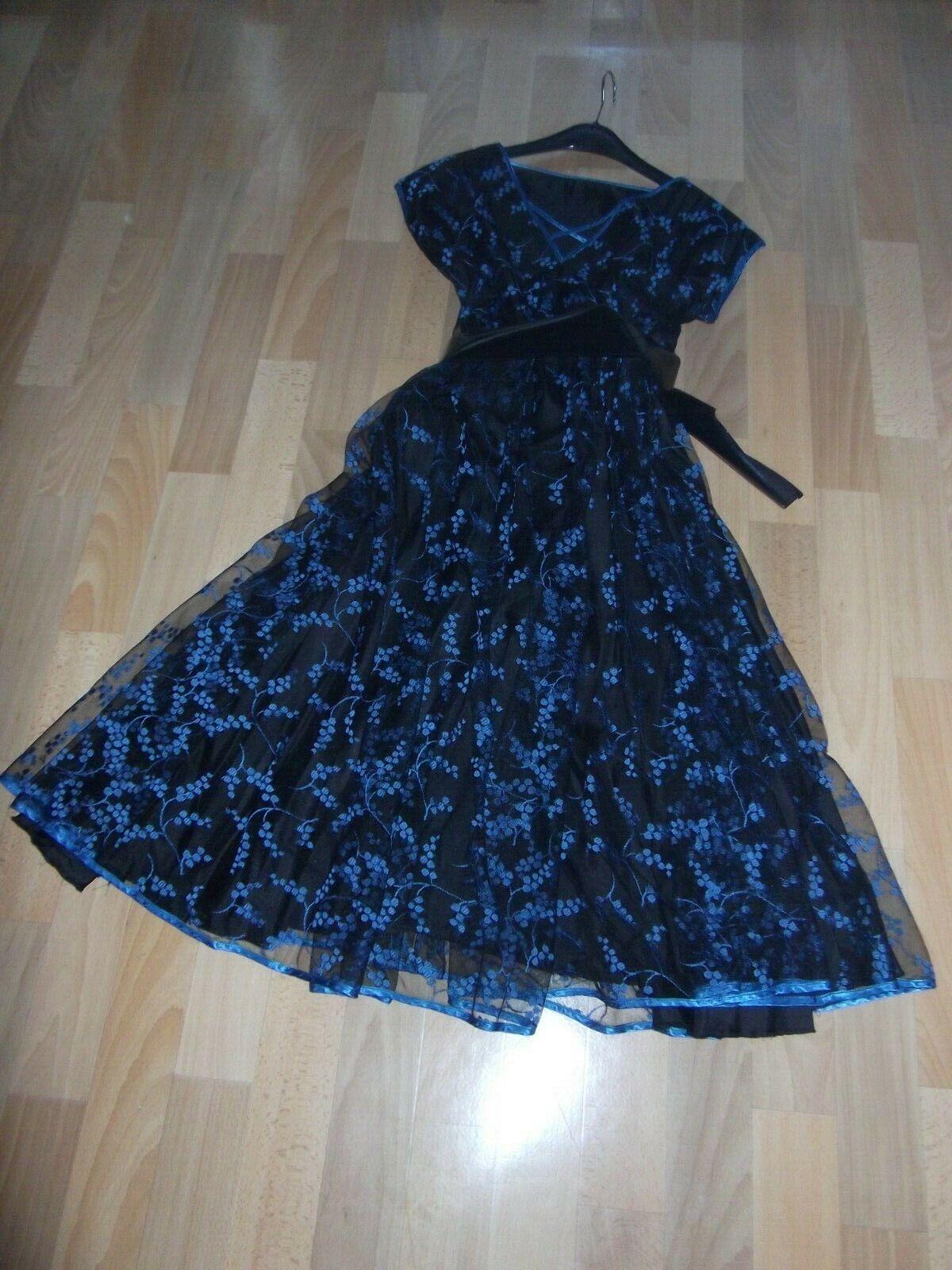 Tanzkleid Kleid Petticoat Rockabilly Gr 40