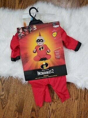 The Incredibles Family Costume (NEW The Incredibles Baby Jack Jack Infant Costume Dress Up 12-18 Months)
