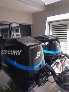 Mercury's  twin 115hp fourstrokes Bicton Melville Area Preview