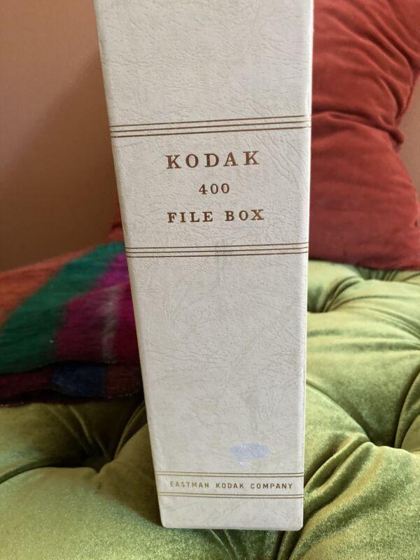 Vintage Metal Eastman Kodak 35mm Slide Compartment File Storage Box Case No.330