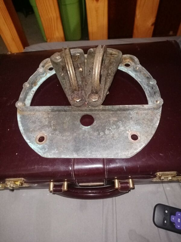 Solid Brass Steering Sheaves Edson Helm