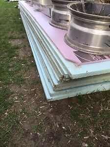 Blue & Pink Rigid Insulation Sheets