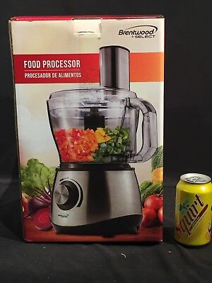 Brentwood Appliance FP-581 Food Processor Electric Juliene Slicer Easy Clean NEW