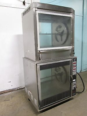 Henny Penny H.d. Commercial Digital Double Stacked Electric Rotisserie Oven