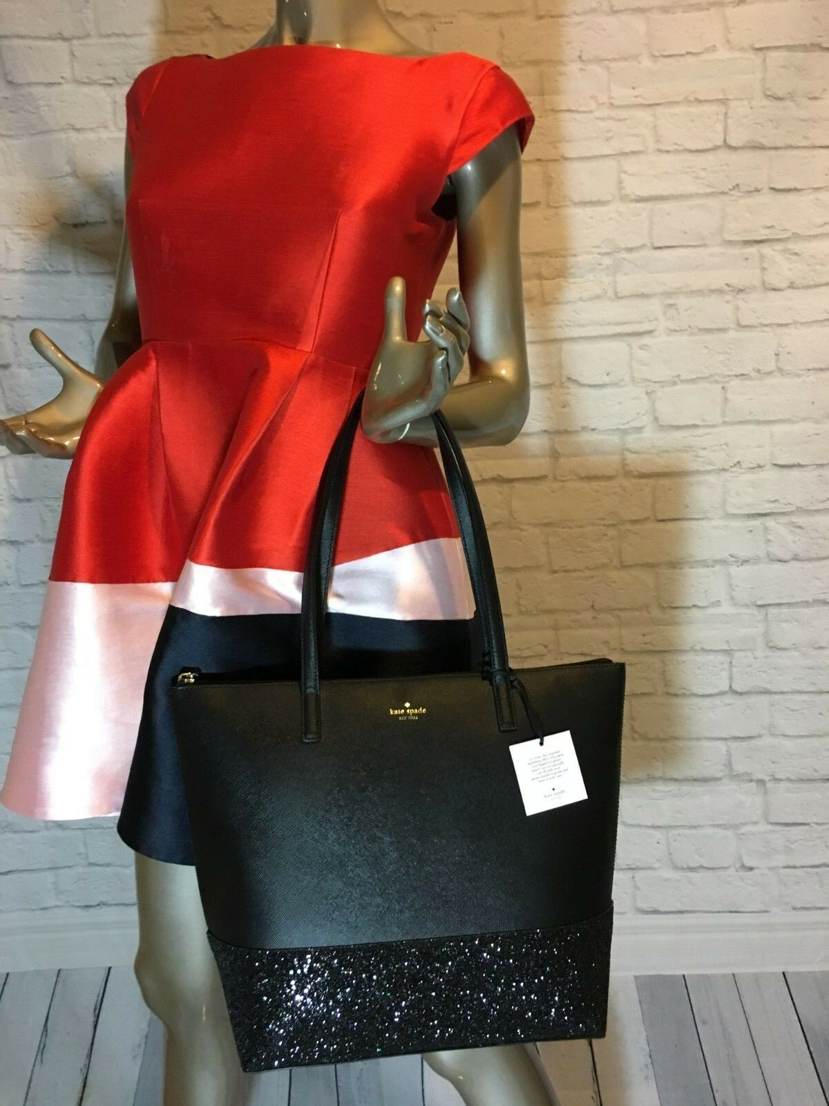 NWT Authentic KATE SPADE Penny Greta Court 10/2018 new LINE Glitter LAST ONES