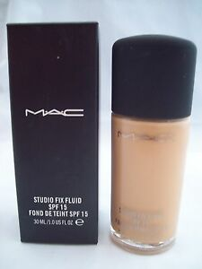 24 HOUR SHIPPING Boxed Authentic! MAC Studio Fix Fluid Liquid Foundation NW25