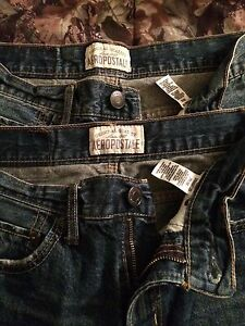 Name brand teenager jeans