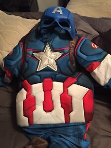 Costume de capitaine America