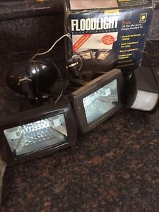 Motion activated floodlight (New)