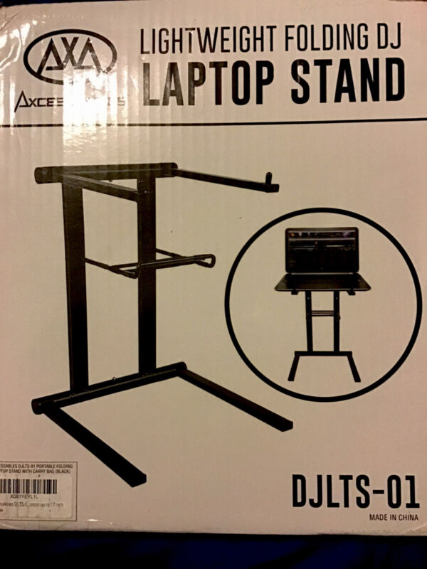 Quick And Easy folding dj laptop stand With Carrying Bag