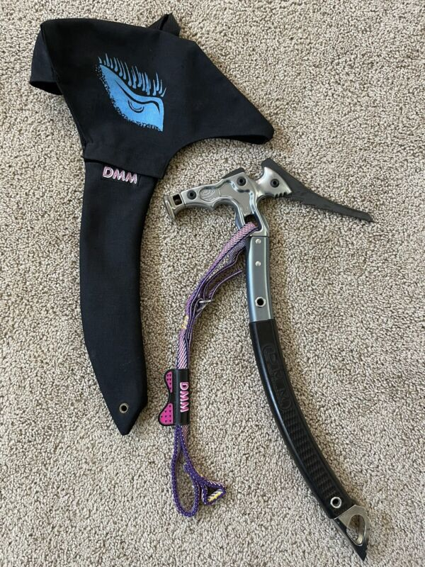 DMM Wales Mountaineering Ice Axe Pick Tool No.1035821 + DMM Leash/Storage Pouch