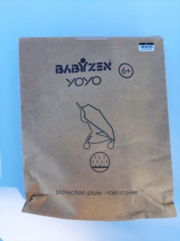 Babyzen YOYO+ 6+ Rain Cover Stroller Clear Shield