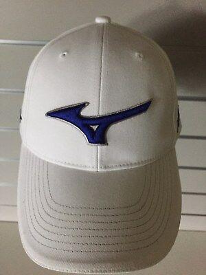 MIZUNO Tour Golf Base Cap Mütze Unisex Weiß UVP 35€