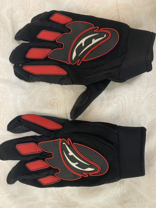 Rare JT Tournament Paintball Gloves Red Bubble Large-X-Large
